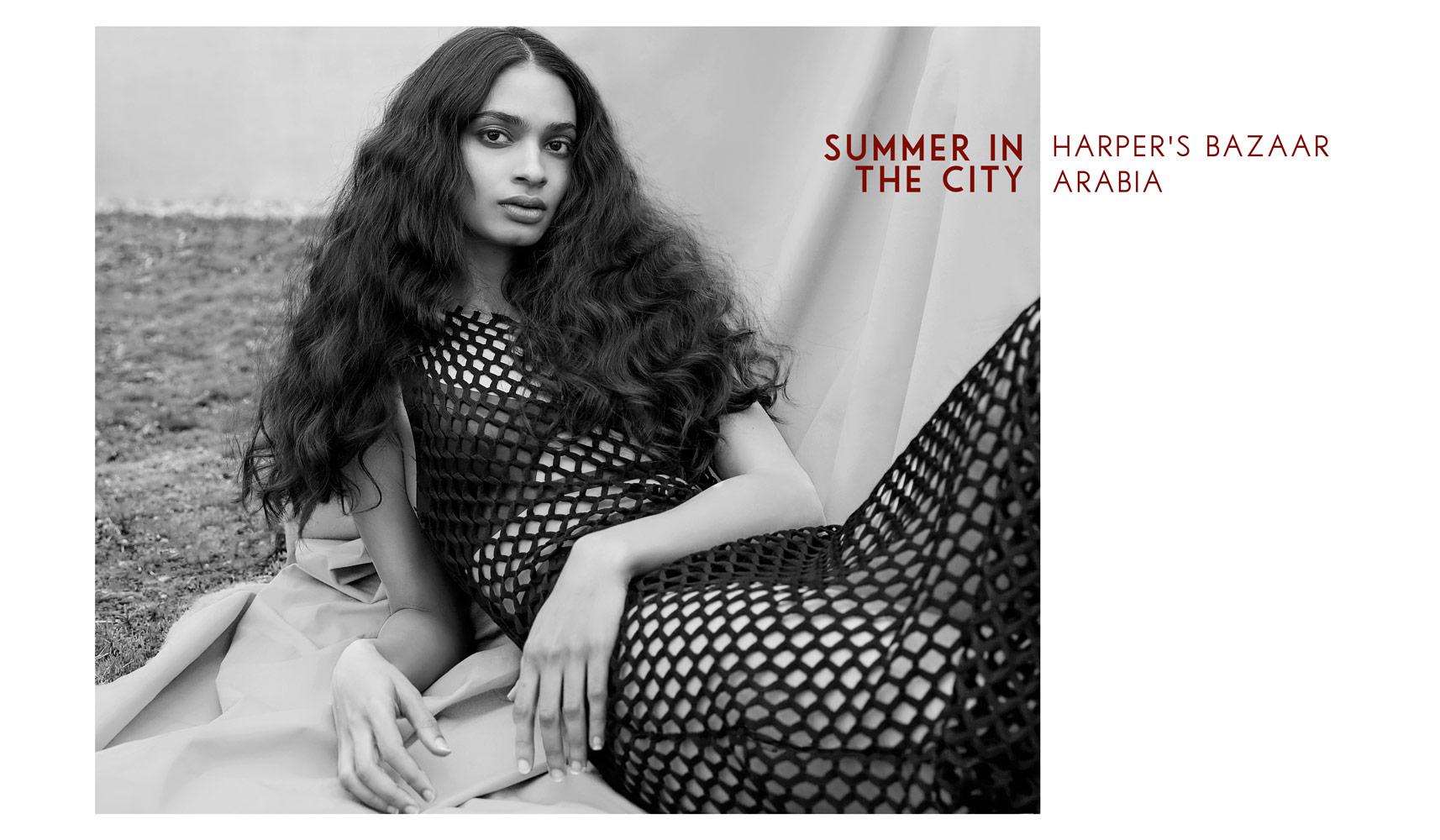 Harper's Bazaar Arabia July/August -Summer in the City –